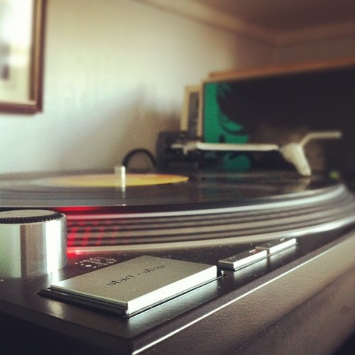 The 1210s are now back up and running. Happy days. (Taken with instagram)