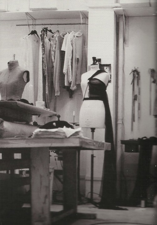 maison martin margiela spring summer 1997 workshop