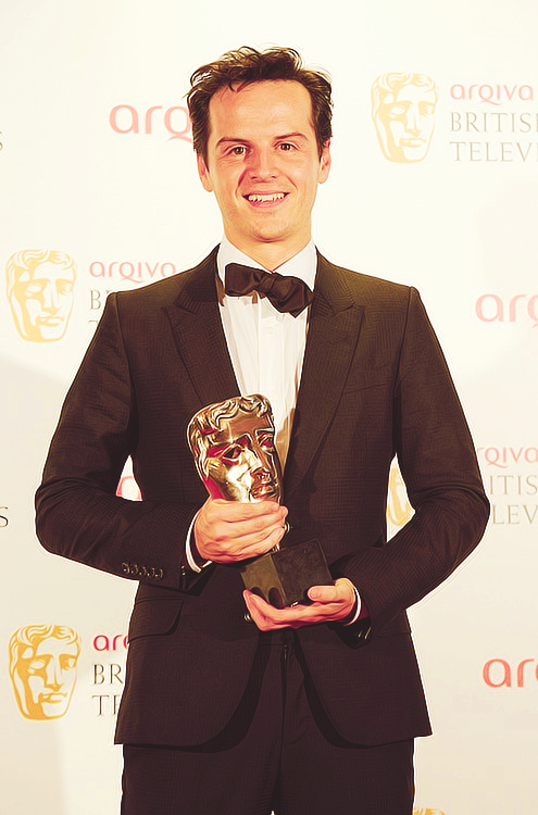 sherlockhlms:  Andrew Scott > WINNER: Supporting Actor > BAFTA 2012
