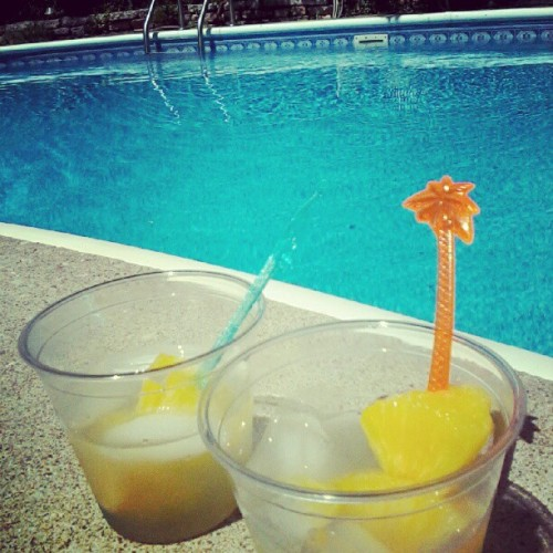 Pooooool party (Taken with instagram)