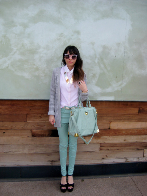 lookbookdotnu:  Dreaming in Pastels (by Visa Lom)