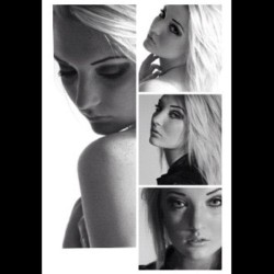 #ego #girl #swedish #blonde #blackandwhite #makeup #face #Emma  (Taken with instagram)