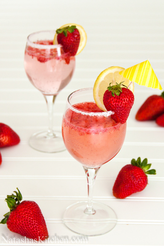 gastrogirl:  strawberry party punch.