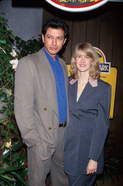 Jeff Goldblum & Laura Dern, 1993