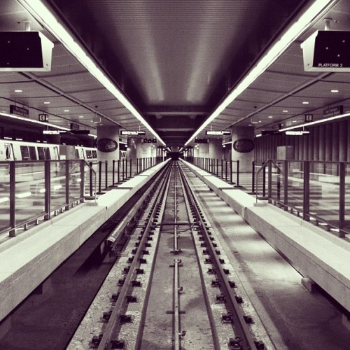 Taken with Instagram at San Francisco Int'l Airport BART Station