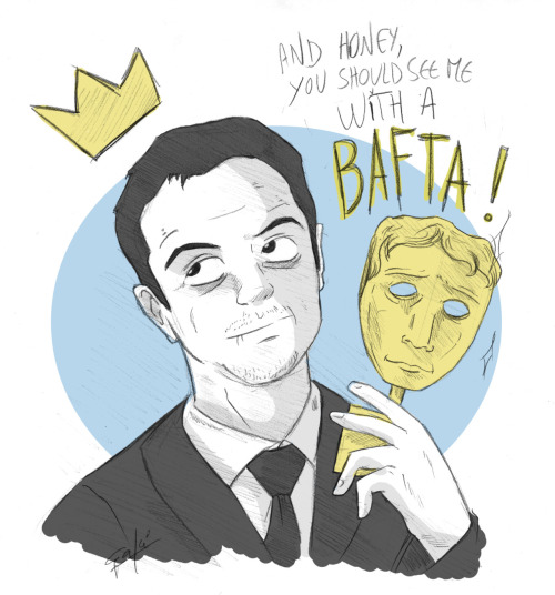 Congratulation to Andrew Scott for winning the best supporting actor ! #BAFTA
