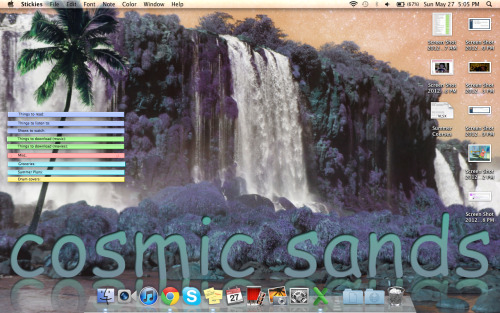 Check my ~stellar~ desktop.