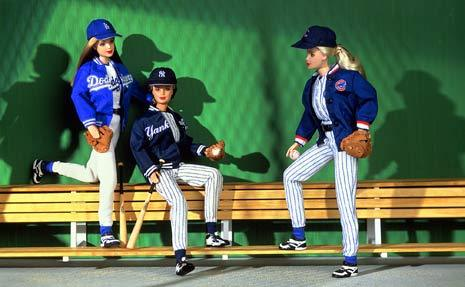 Major League Baseball Barbie, 1998 Source: http://www.blogher.com/athletic-barbies