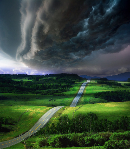 bluepueblo:  Impending Storm, Colorado photo via ra