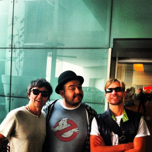 Con Adrián y Diego Babasonicos.  (Taken with instagram)