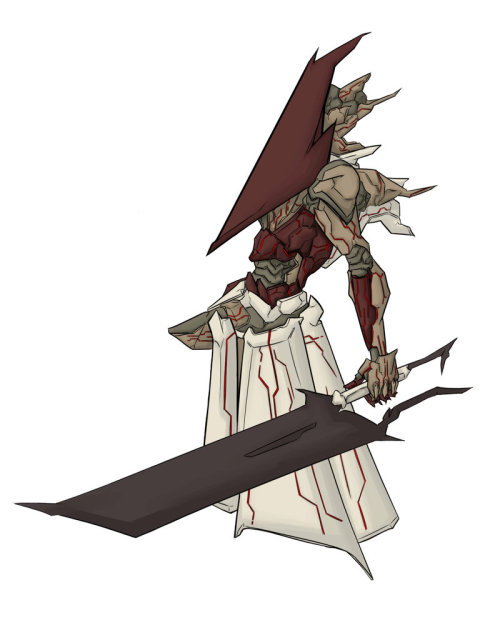 Pyramid Head Orbital Frame by ~EU03