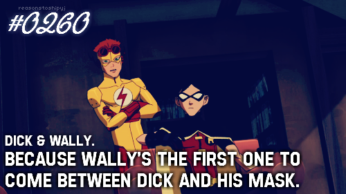 boy-wonder-robin:  thezatarashuffle:  boy-wonder-robin:  thezatarashuffle:  He's also the first to come between Dick and his tights…  Not cool Zee. Not. Cool.  sorry, this was ooc whoops  I know. But like muse like master, right? -troll-fail'd |3;;  …….
