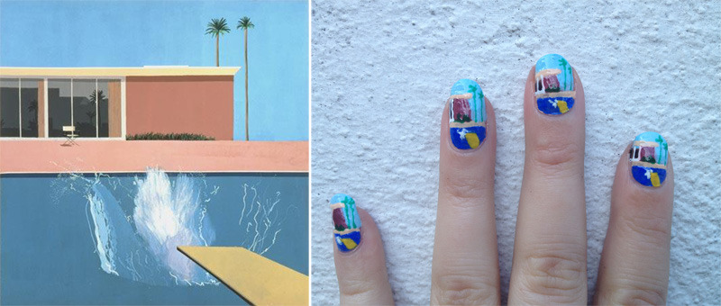 nailsomething:  Nailed by David Hockney