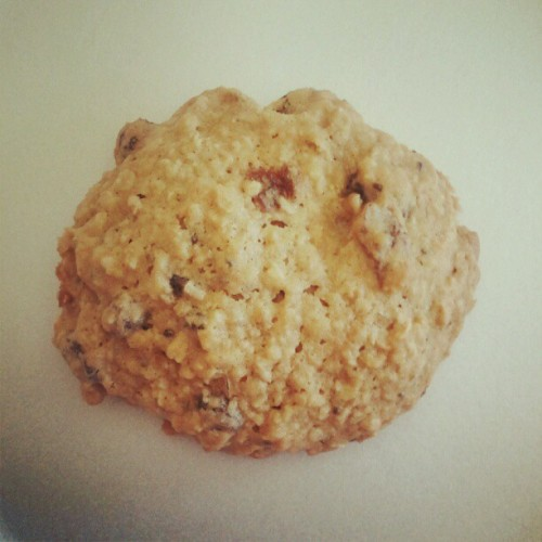 Day 27: Something sweet Homemade oatmeal coookie!