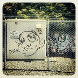 #ORACLE #Graffiti #Berkeley #CA (Taken with instagram)