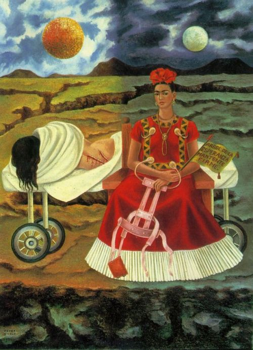 artmastered:  Tree of Hope by Frida Kaho, 1946
