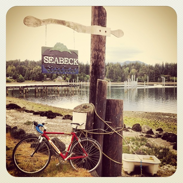 Sunday afternoon ride with @luciajewelry, Seabeck, WA.  #roadbike #sundayride #northwest #coast (Taken with instagram)