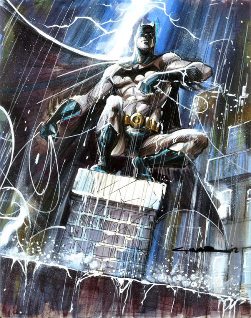 redpuppyx:  BATMAN by ~Cinar