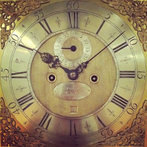 Another clock face. (Taken with instagram)