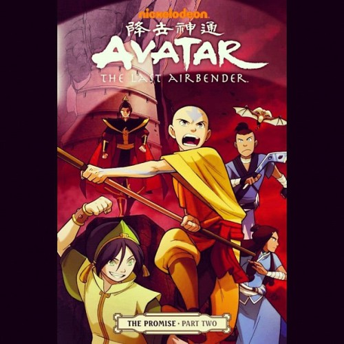 #Avatar #TheLastAirbender The story continues… #ThePromise #Nick #Comics  (Taken with instagram)