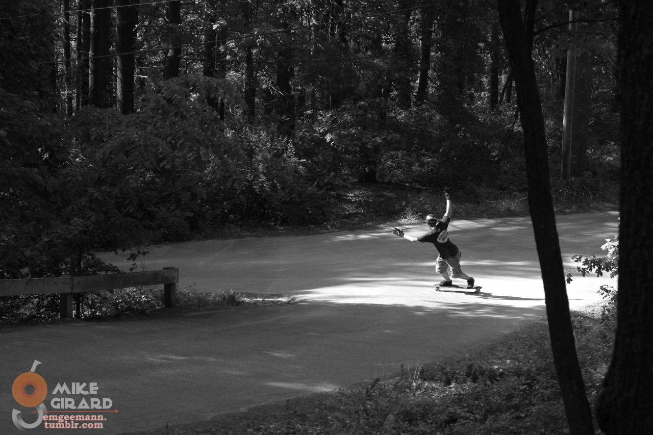 emgeemann:  Switch Toeside Check. Rider: Graham Feddersen. My first B&W shot! -MG