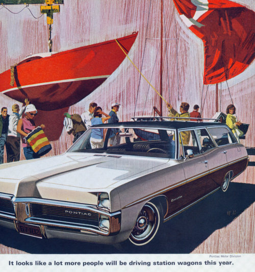 dtxmcclain:  Pontiac Executive Safari Station Wagon, 1967