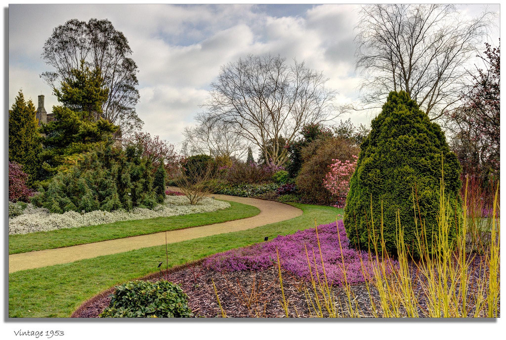 outdoorsanctuaries:  The Winter Garden - Wakehurst Place (by vintage 1953 & wackymoomin)