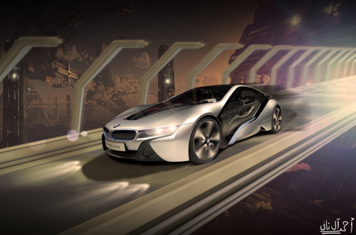 BMW i8 Concept  photograph by A.ALTHANI