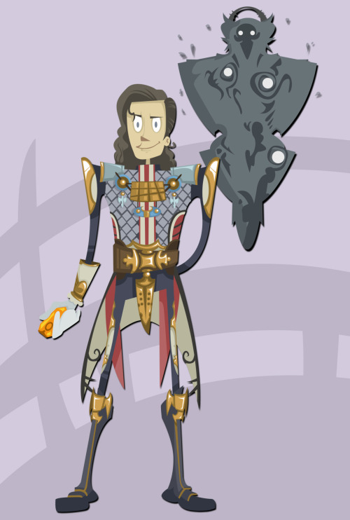moriillustrations:  Final Fantasy villain Number 4: Vayne Carudas Solidor (and Venat)