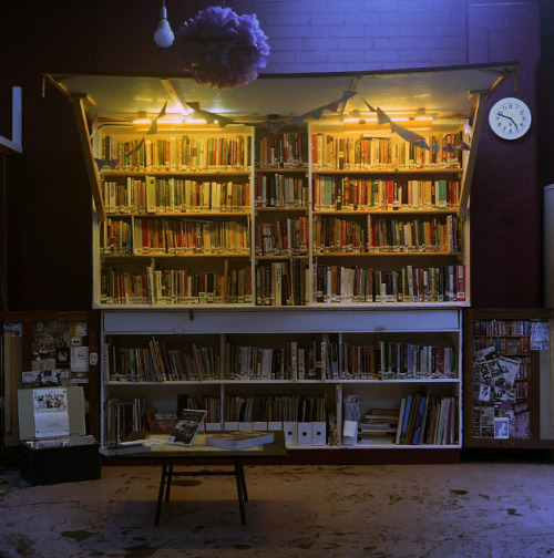 hcryer:  The Canny Little Library, Star and Shadow Cinema. 2012.