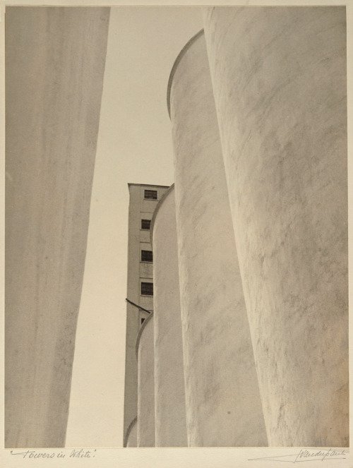 john vanderpant:  no.2, towers in white around 1934