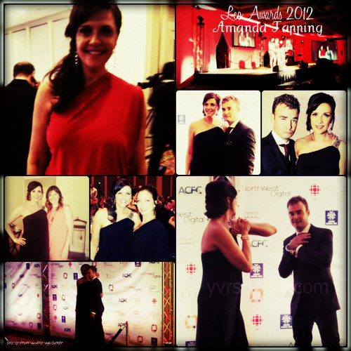 Leo Awards 2012 - Amanda Tapping