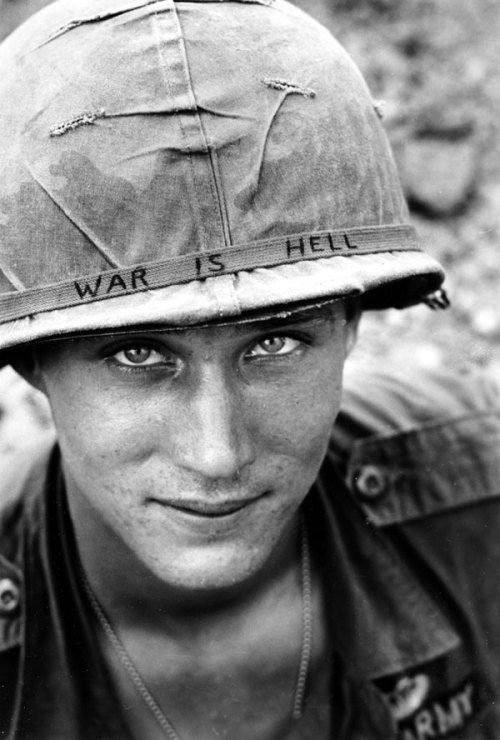American Soldier in VietnamHappy Memorial Day everyone! I don't care what type of blog you have, you need to reblog this. I hope that this Memorial Day, you guys will remember what this day is about. Please take the time to remember the brave and beautiful soldiers who fought and lost their life while fighting for our country. Thank you courageous men (and women) for your service. ♥