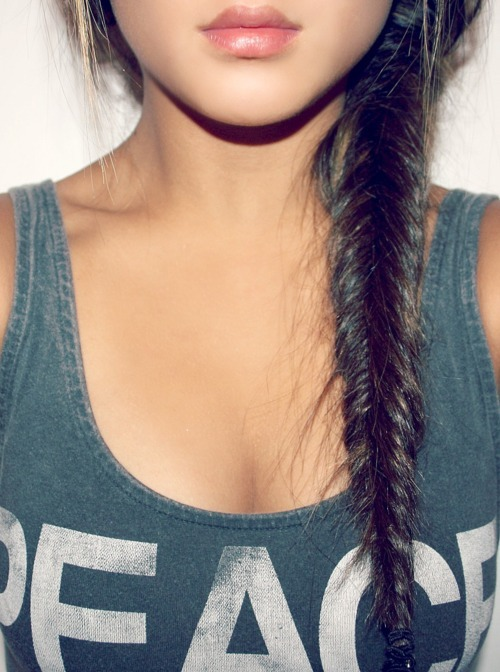 fishtail braid ! love:)