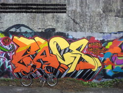 Street Art on Flickr.Tags: Dahon Hammerhead