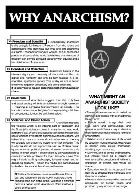 ragemovement:  Why Anarchism? Poster I found from Jura Books. Jura Books is an anarchist bookstore on the land of the Gadigal people. The Jura Collective also runs the popular Mutinyzine.