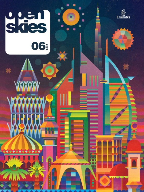 Open Skies, June 2012Illustration: Matt Lyon, editor: Conor Purcell