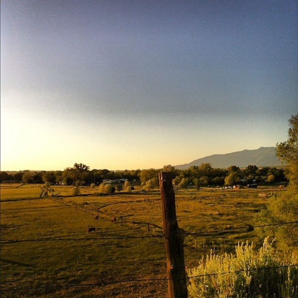 Magic hour like woah in Taos. #nofilter (Taken with Instagram at Taos, NM)