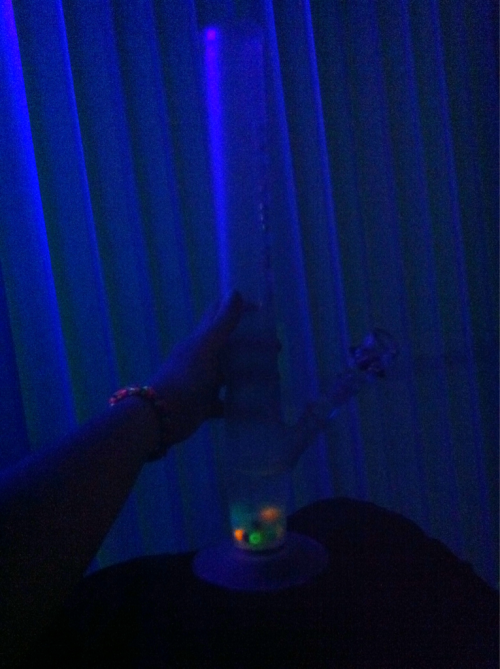 Cleaned my bong:)