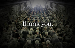 thank you so very much to all the soldiers who put their lives on the line. You don't have to believe in the wars, but believe in our men & women.
