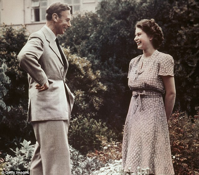 lulamae:   Princess Elizabeth and her father, King George VI.  Whilst I feel overwhelming apathy towards the royal family and patriarchy in general, I love that the Jubilee has brought about old sassy photo's of Liz, bunting left right and centre, and a hell of a lot of cake. <3