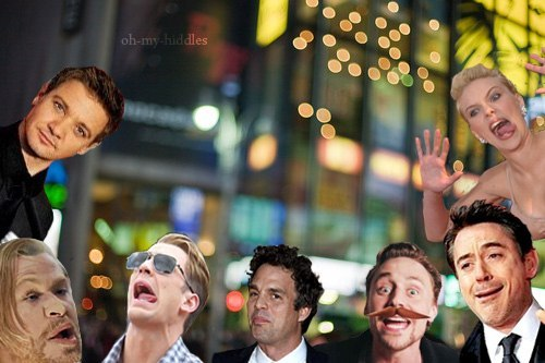 kaidanabernathy:   Renner: Me and my stupid friends!