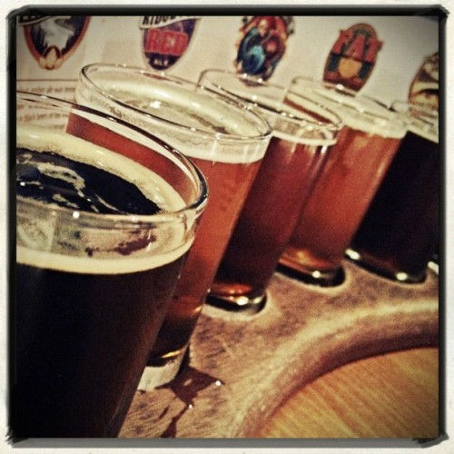 A sampler at @SilverCityBrew on Instagram http://instagr.am/p/LJ0EQLyAQK/