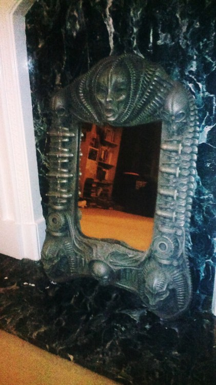 Giger mirror. If you want it, send me a message. x