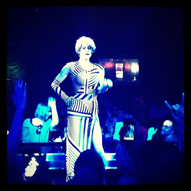Sharon Needles Performing @ FBAR #houston