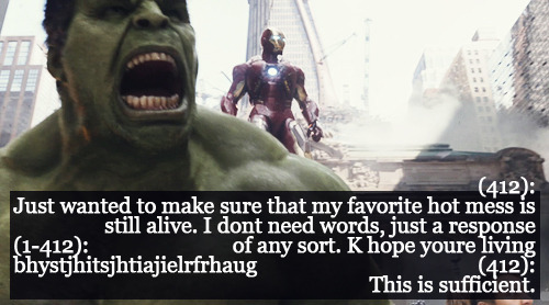 THIS IS THE MOST ACCURATE AVENGERS-TFLN EVER. Cuz science bros look out for one another.
