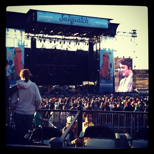 Beirut @Sasquatch (Taken with instagram)
