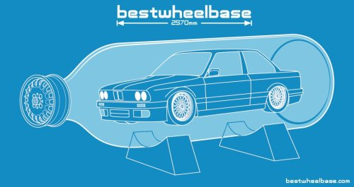 bestwheelbase:  E30 In A Bottle - limited edition t-shirt. Coming soon to bestwheelbase.com.