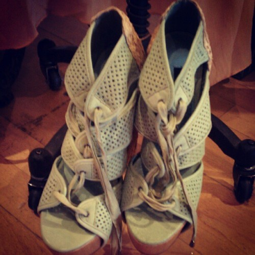OMG shoes. #fashion #platforms #summer (Taken with instagram)