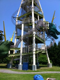 sarcasticwit:  Japanese playgrounds  This is AWESOME!